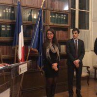 (Français) Remise de Prix Armée de l'Air : un étudiant de l'IFG récompensé